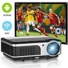 HD LED Android Home Theater Projector Movie Bluetooth Proyector HDMI 1080p WiFi