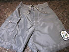 Rare New Vintage Kanvas By Katin Sewn Patch USA Board Shorts 28