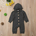 US Xmas Autumn Infant Baby Boy Girl Cotton Hooded Romper Jumpsuit Clothes Outfit <br/> ❤100% Soft Cotton❤FAST &amp; 3~7 DAYS❤