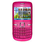"100% Nokia C3-00 Wifi Qwerty Keypad Unlocked 2.4"" Mobile Phone 2.0MP Camera"