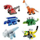 Mattel Vehicle Playsets Dinotrux Bundle - Ty Rux, Garby, Ton-Ton, Skya, Revvit