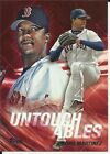 PEDRO MARTINEZ 2017 TOPPS UPDATE UNTOUCHABLES (RED SOX) INSERT #U-17 SEE SCAN