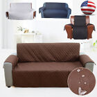 1/3 Seat Sofa Cover Couch Loveseat Slipcover Pet Dog Mat Furniture Protector US