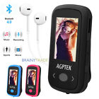 AGPTEK Sports Clip MP3 Bluetooth HiFi Lossless Sound Music Player FM Recorder