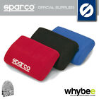 01011 SPARCO RACING SEAT LEG SUPPORT CUSHION (1) - RED / BLACK / BLUE