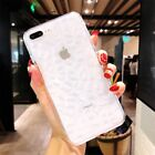Diamond Ice Case iPhone 6 6s 7 8 Plus Cases Clear Silicone Soft TPU Back Cover
