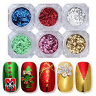 BORN PRETTY Unregelmäßige Nagel Sequins Glitter Paillette Nail Flakes Powder günstig