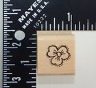 Azadi Earles Flower Rubber Stamp A914