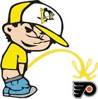 Pittsburgh Penguins Piss On Philadelphia Flyers Vinyl Decal CHOOSE SIZES $10.79 USD on eBay