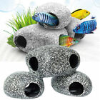 Aquarium Fish Tank Tropical Fish Cichlid Stone Rock Cave Ornament S M Size