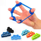 Silicone Finger Training Expander Stretch Hand Gripper Resistance Band Tension image