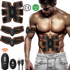 EMS Trainer ABS Stimulator Body Fit Belt Muscle Toner Therapy Abdominal Exercise image