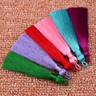 2PCS Silky Thread Tassel For Earrings Jewelry Making DIY Craft Accessory 8cm/3''