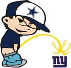 Dallas Cowboys Piss On New York Giants Vinyl Decal CHOOSE SIZES $42.99 USD on eBay
