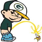 Green Bay Packers Piss On Minnesota Vikings Vinyl Decal CHOOSE SIZES $12.99 USD on eBay