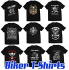 Biker T-Shirt, Motorcycle Harley Triumph Ducati motorbike designs up to XXXXXL £8.99 GBP on eBay