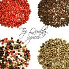 Highest Quality - Whole Peppercorns, Black, Green, Red, Pink, White, Mixed Spice