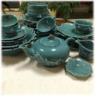 LOT Vintage Steubenville Woodfield JUNGLE GREEN Leaf Serving China YOUR CHOICE