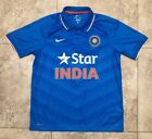Rare Board Of Control For Cricket In Inida Jersey By Nike Mens Xl Star Blue