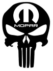 Mopar Punisher Skull Decal, Dodge, JDM Decal for Car, Truck, Window, Outdoor etc $3.49 USD on eBay