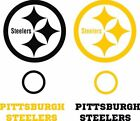Pittsburgh Steelers Set of 8 Vinyl Decals Stickers - Window Decal - Cornhole $27.88 USD on eBay