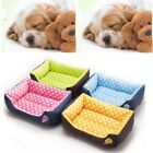 Puppy Dog Large Pet Cushion Waterproof House Pet Soft Warm Kennel Dog Mat Basket