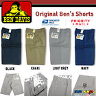 Ben Davis Shorts Men Original Ben's Poly Cotton Blend Heavy Weight Twill Hip hop