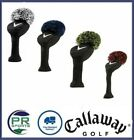 Brand New Callaway Golf Driver or Fairway Wood Headcover - Vintage Pom Pom Cover