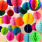 5pcs 15 Cm Tissue Paper Lantern Honeycomb Ball For Home Wedding Party Decoration
