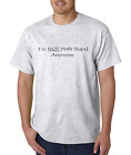 Unique T-shirt Gildan I'm Not With Stupid Anymore Dating Break-up