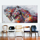 Abstract Modern Oil Horse Painting Canvas Print Wall Art Picture Home Decor Gift