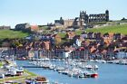 Unframed Photo Canvas Print Poster Picture Whitby Harbour Town View Yorkshire
