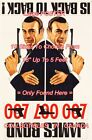 """DR. NO / FROM RUSSIA WITH LOVE 1965 James Bond 007 = POSTER 10 Sizes 18"""" - 5 FT $32.88 CAD on eBay"""
