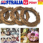 Christmas Natural Dried Rattan Wreath Xmas Garland Home Door Wall Diy Decoration