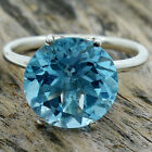 Natural Sky Blue Topaz 925 Sterling Silver Ring Jewelry Size 6-9 DGR6003_A