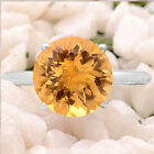 Natural Golden Citrine 925 Sterling Silver Ring Jewelry Size 6-9 DGR6005_D
