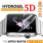 5D Full Cover Hydrogel Screen Protector Film Soft For Apple Watch Series 4/3/2/1