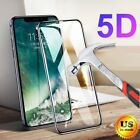 5D Full Cover Tempered Glass Screen Protector for iPhone X...