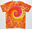 Adult TIE DYE Sunflower Blotter S/S T-Shirt 5X 6X grateful dead art hippie