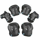 BMX Bike Knee Pads And Elbow Pads With Wrist Guards Protective Gear Kids Adults image