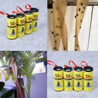 4/8/12/16Pcs Insect Bug Fly Glue Paper Catcher Ribbon Tape Control Sticky Tools