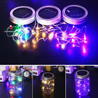Practical Jar Lid Lights Fairy Light Garden Living Room Home Decor 3 Color