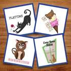 Crazy Cats - 14 Machine Embroidery Designs