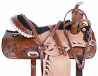 Cowgirl Barrel Trail Racing Racer Leather Western Horse Saddle Tack 14 15 16 17