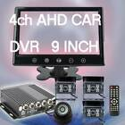 "9"" LCD Screen 4 Channe realtime AHD CARE DVRl for Car Bus DIGITAL VIDEO RECORDER"