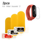 AD76 TPU for Miband 3 Silicone Premium Watch Strap Stoma Replacement Bracelet