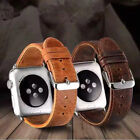 Genuine Leather iWatch Band Wrist Strap Belt for Apple Watch Series 5/4/3/2/1 image