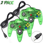 USB Wired Game Controller Gamepad Joystick for Nintendo SNES NES N64 Xbox 360