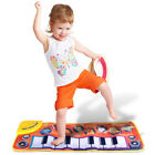 Musical Blanket Baby Kid Infant Toy Piano Keyboard Learn Singing Carpet Mat