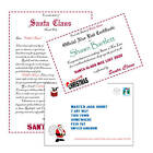 Personalised Letter from Santa / Father Christmas + Envelope & Certificate V5